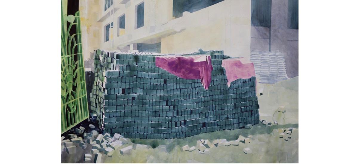 Yvan Salomone – Au-dessous du barrage –  07/09 au 06/10 – Xippas Paris