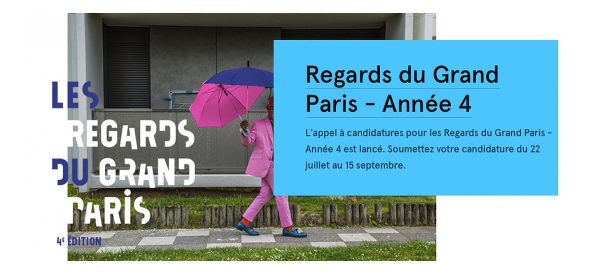 ▷15/09 – APPEL À CANDIDATURES – REGARDS DU GRAND PARIS