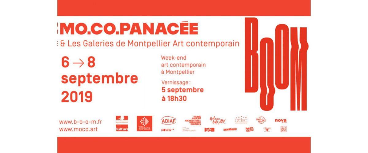 BOOM – 05 au 08/09 – Week-end de l'art contemporain à Montpellier