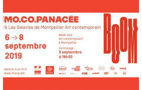 BOOM – 05 au 08/09 – Week-end de l'art contemporain à Montpellier