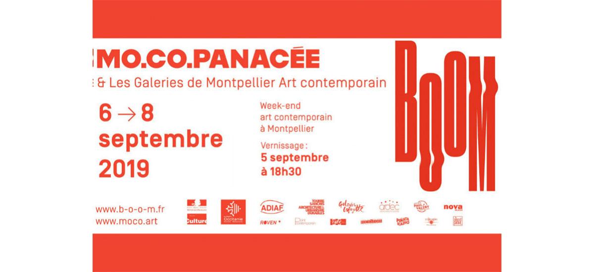 BOOM Week-end de l'art contemporain – 05 au 08/09 – Montpellier