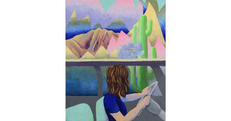 Anne Brégeaut – Ailleurs on rêve d'ici – 13/9 au 9/11 –  Le Point Commun, Annecy