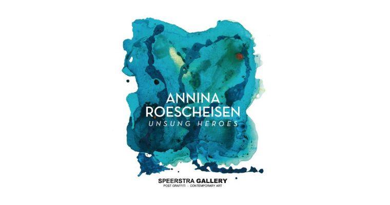 Annina Roescheisen – Unsung Heroes – 21/09 au 09/11 – Speerstra Gallery, Suisse
