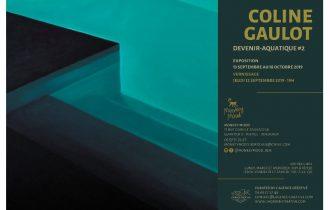 Coline Gaulot – Devenir aquatique #2 – 12/09 au 18/10 – Galerie Monkey Mood, Bordeaux