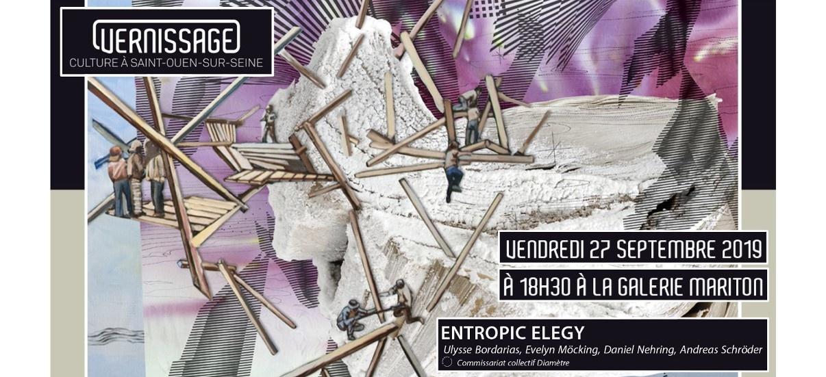 Entropic Elegy – 27/09 au 26/10 – Galerie Mariton, Saint-Ouen-sur-Seine