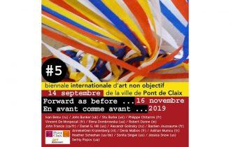 Biennale internationale d'art non objectif #05 – 14/09 au 16/11 – Ville de Pont de Claix