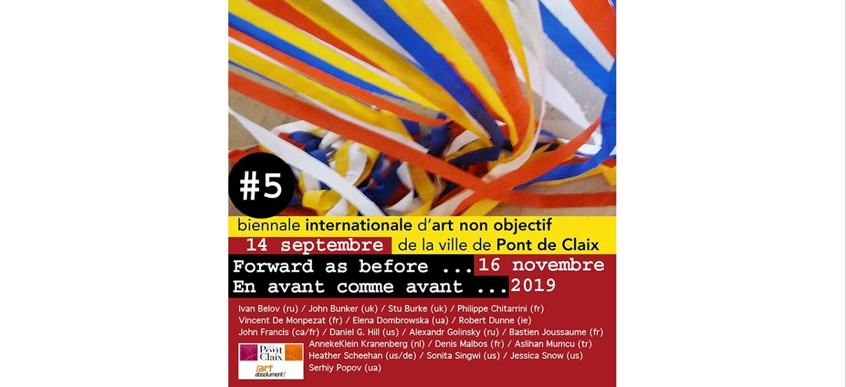 Biennale internationale d'art non objectif #05 – 14/09 au 16/11 – Ville de Pont de Claix