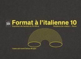 Format à l'italienne 10 – 12/09 au 27/10 – Espace Le Carré, Lille