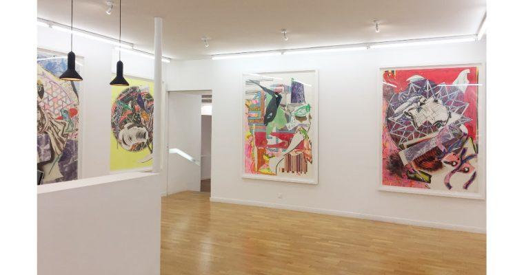 Frank Stella – The Waves – 13/09 au 31/10 – Galerie Claire Gastaud, Clermont-Ferrand