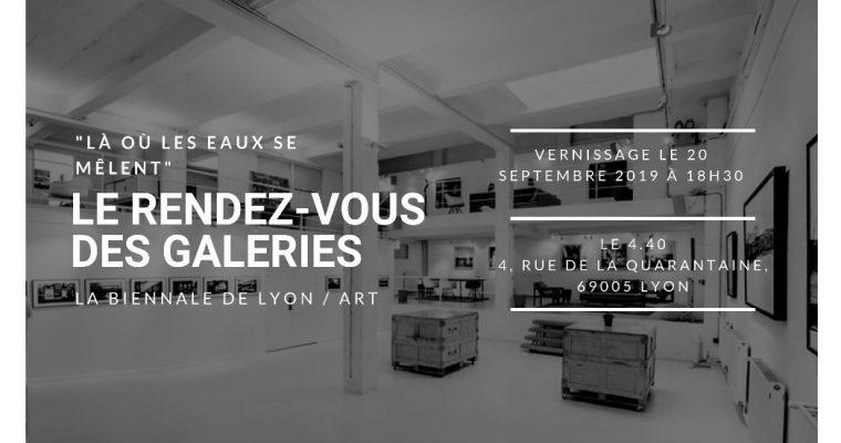 Le rendez-vous des galeries – 18/09 au 05/10 – Le 4.40 – Lieu événementiel créatif, Lyon