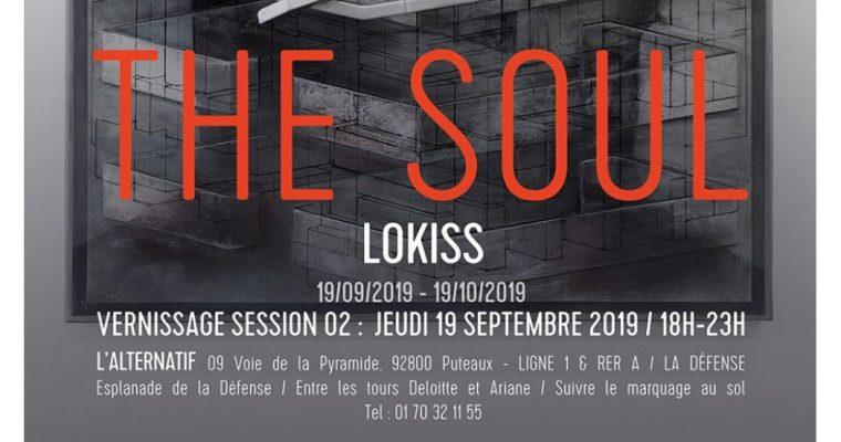 Lokiss – The Soul Session 02 – 19/09 au 19/10 – L'Alternatif, Puteaux