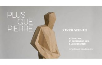 Xavier Veilhan – Plus que pierre – 21/09 au 05/01 – Collégiale Saint-Martin, Angers