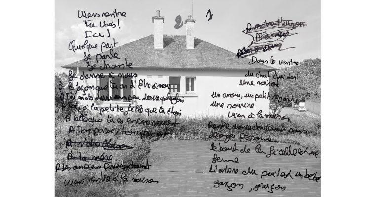 Garenne et terrain vague. La maison – 08 au 29/09 – Béton Caverne, St Erblon, Rennes métropole