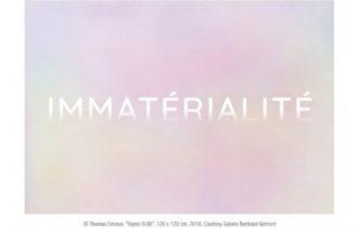 Immatérialité – 07/09 au  02/11 – Espace Topographie de l'Art, Paris