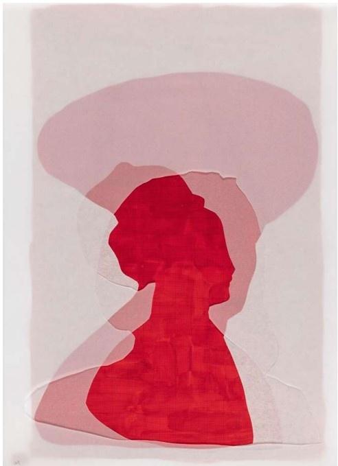 Christine Crozat_exposition Entre les mondes_Galerie Françoise Besson_Lyon_© JL Losi