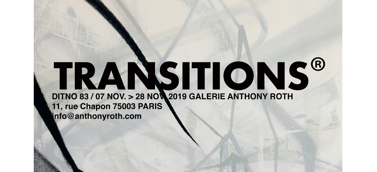 Ditno83 – Transitions – 07 au 28/11 – Roth Contemporain, Paris