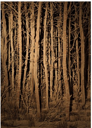 Eva-Jospin_Forêt_Courtesy-de-lartiste-et-Galerie-Suzanne-Tarasieve_©-Olivier-Toggwiller