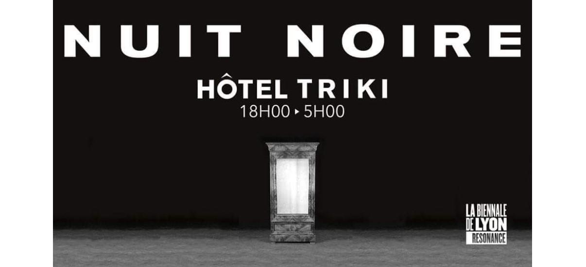 Nuit noire – 06 au 10/11 – galerie Kashagan project room, Lyon