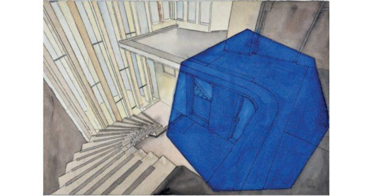 Georges Rousse – aquarelles et photographies – 08/11 au 21/12 – Galerie Catherine Putman, Paris
