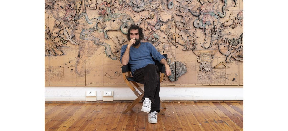 Pietro Ruffo – 10/10 au 23/11 – Galerie Italienne, Paris