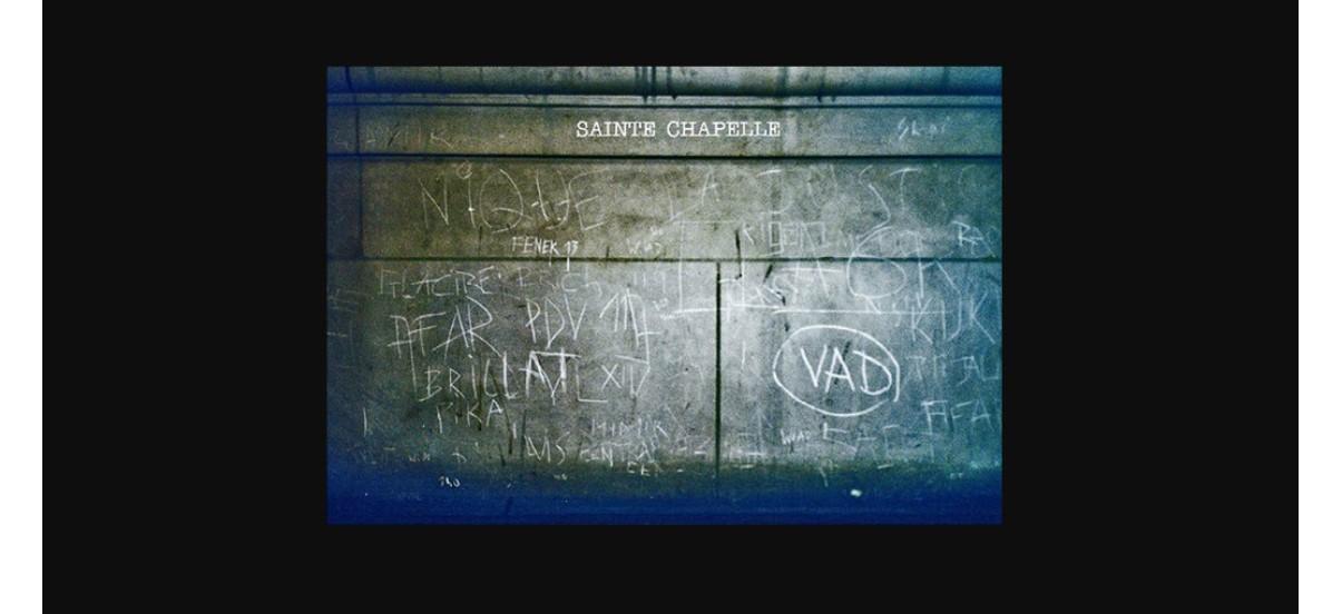 Radouan Zeghidour – Sainte Chapelle – 12/10 au 16/11 – Galerie Dohyang Lee, Paris