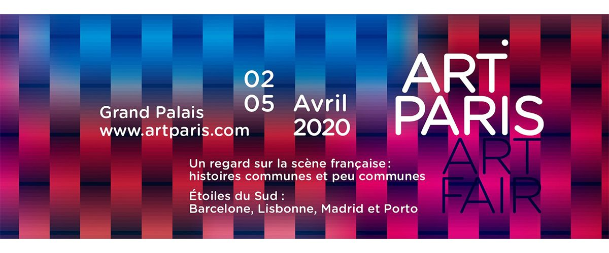 ART PARIS 2020 – 02 au 05/04 – Grand Palais Paris