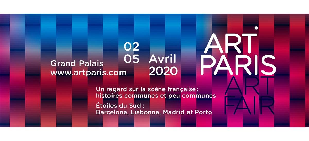 ART PARIS 2020 – 02 au 05/04 – Grand Palais Paris