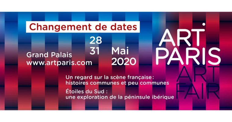 ART PARIS 2020 – 28 au 31.05 – Grand Palais Paris