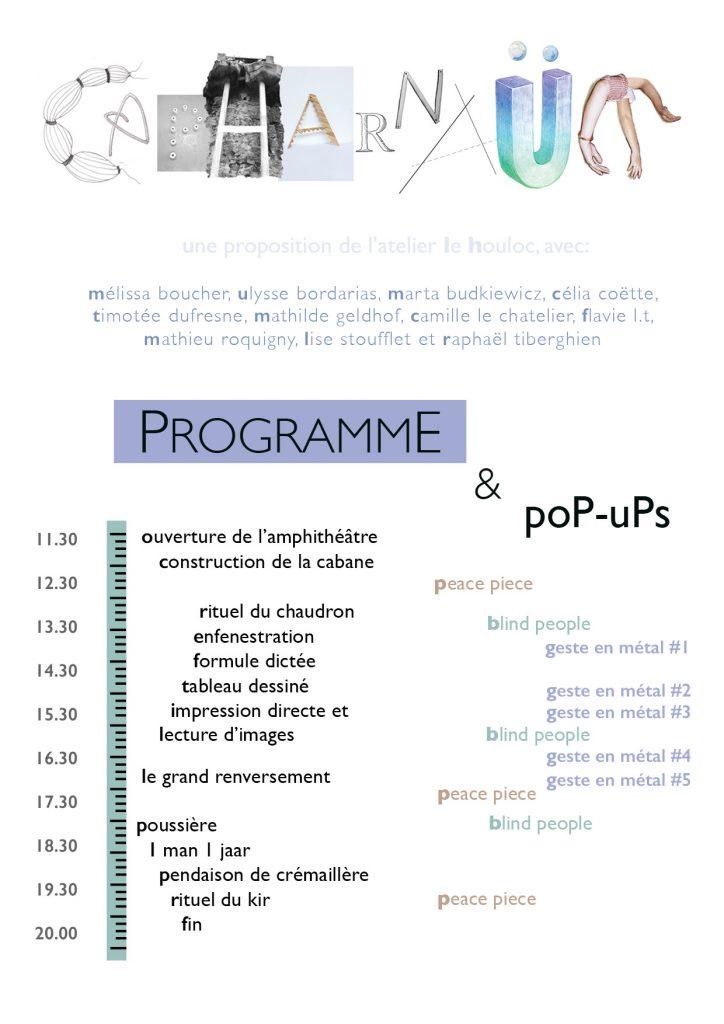 exposition Capharnaüm_le Houloc_Cercle Chromatique_Beaux-Arts de Paris
