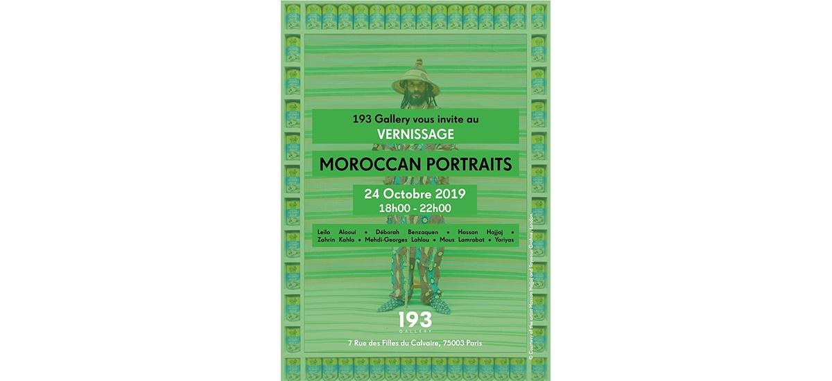 Moroccan Portraits – 24/10 au 15/12 – 193 Gallery Paris