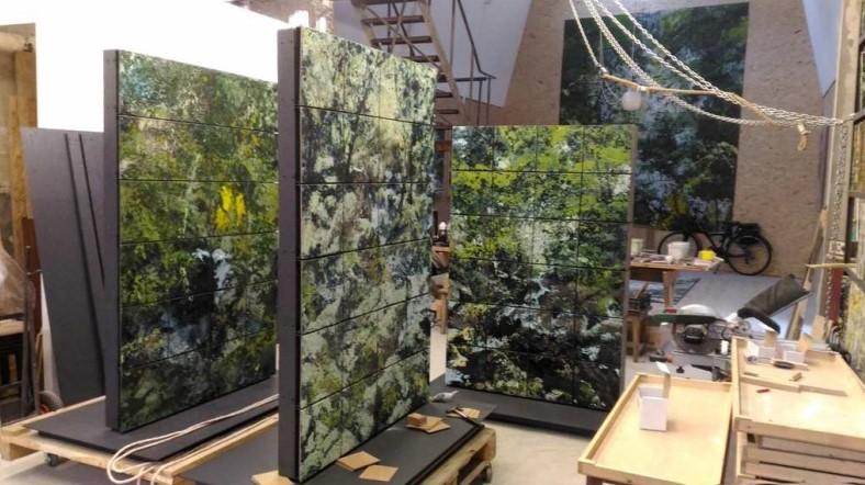Bruno Desplanques_exposition La peinture se fait le mur_La Forme Le Havre