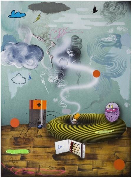 Dan Brault_exposition Sampling_Galerie Isabelle Gounod Paris