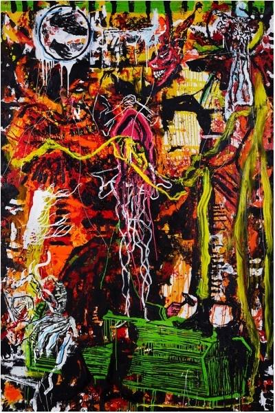 Orsten Groom_exposition Pompeii Masturbator_Espace Oppidum Paris