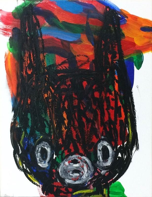 Ryoichi Yamazaki_Maiko Kobayashi_Don't look at me_Pierre-Yves Caër Gallery_Paris