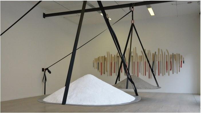Séverin Guelpa_exposition Climatic Trust_Le Point Commun_espace d'art contemporain Annecy