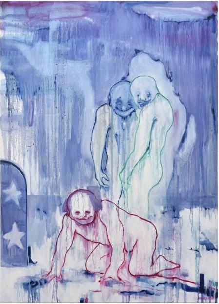 Vincent Gicquel_Qu'est-ce que je fais là_Galerie Thomas Bernard_Cortex Athletico_Paris