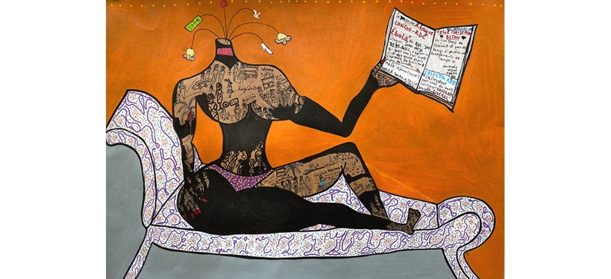 Willys Kezi – Bonzenga – 30/11 au 14/01 – Galerie Eric Dupont, Paris