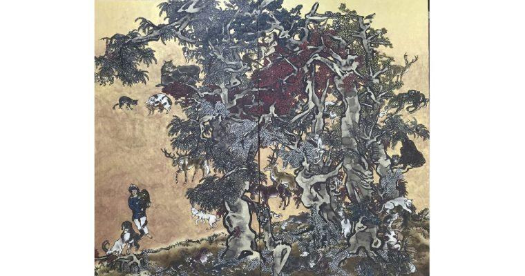 Yang Jie-Chang – Dark Writings – 30/11 au 22/02 – Galerie Jeanne Bucher Jaeger, Paris
