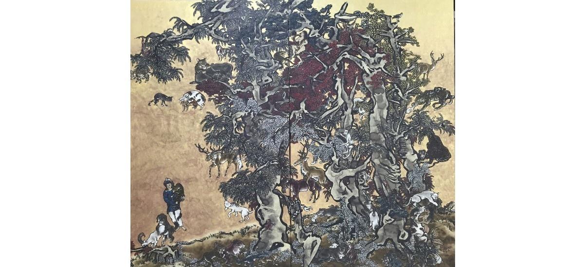 Yang Jie-Chang – Dark Writings – 30/11 au 01/02 – Galerie Jeanne Bucher Jaeger, Paris