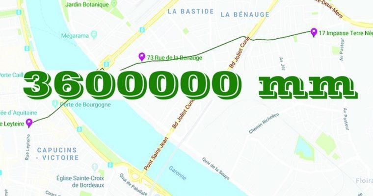 3 600 000 mm – 15 au 17/11 – Bordeaux