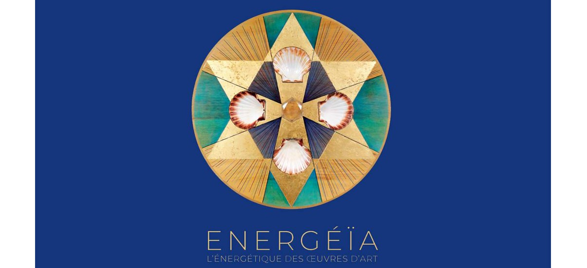 ENERGÉÏA L'énergétique des œuvres d'art – 15/11 au 08/01 –  Topographie de l'art, Paris