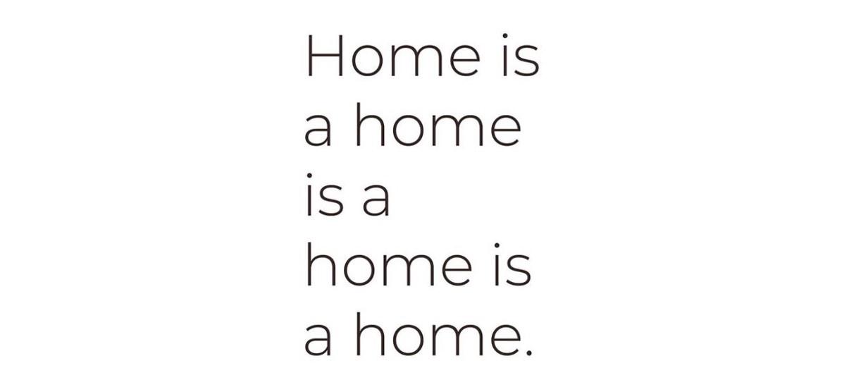 Home is a home is a home is a home – 30/11 au 11/01 – Galerie Jousse Entreprise, Paris