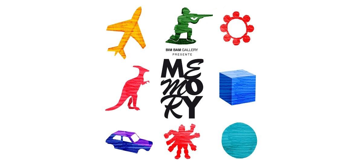 Memory – 21 au 30/11 – Bim Bam Gallery, Paris