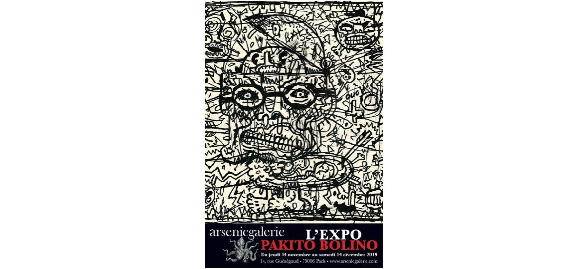 Pakito Bolino – 14/11 au 14/12 – arsenicgalerie, Paris