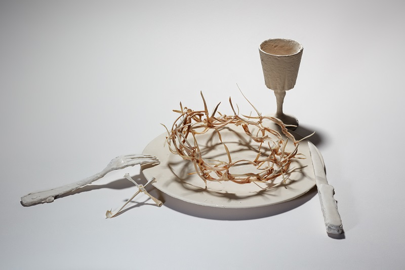 Corine Borgnet_exposition Le Dernier Souper_Galerie Valérie Delaunay Paris