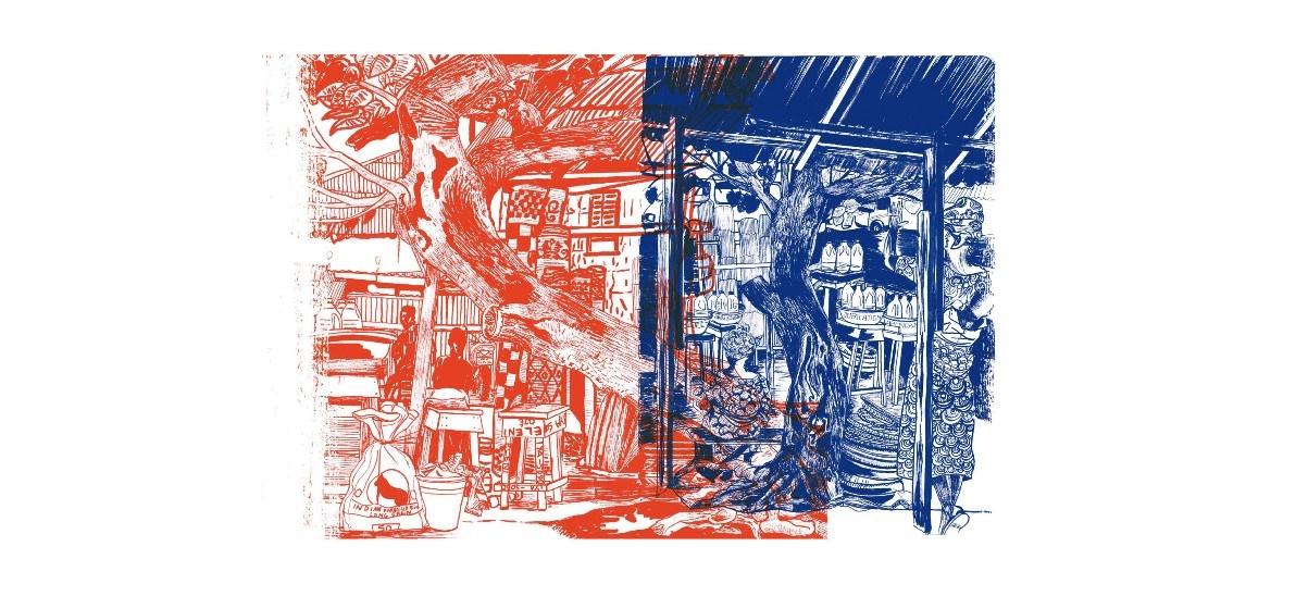 Delphine et Elodie Chevalme / Émilie Guitard – Treebadan 09 au 20/12 – L'arbre à Lettres, Paris