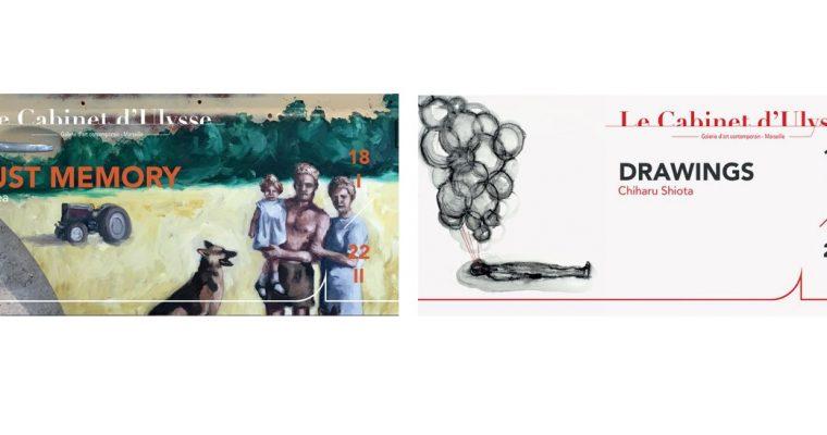 Kegrea /// Chiharu Shiota – 18/01 au 22/02 – Galerie Le Cabinet d'Ulysse, Marseille