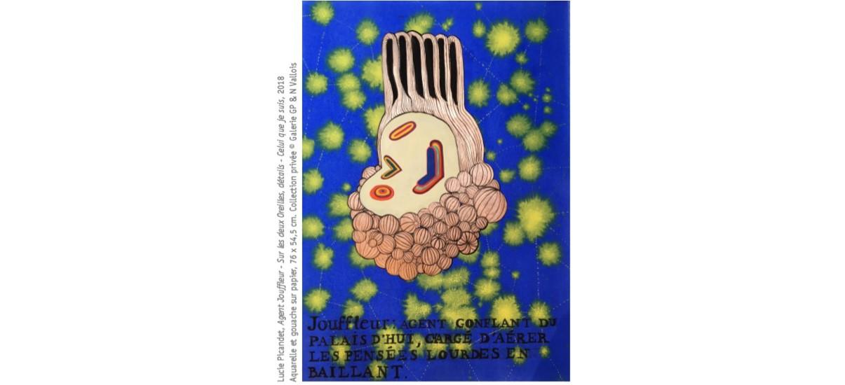Lucie Picandet – Le Soir du Poulpe – 30/01 au 29/02 – Drawing Lab Paris