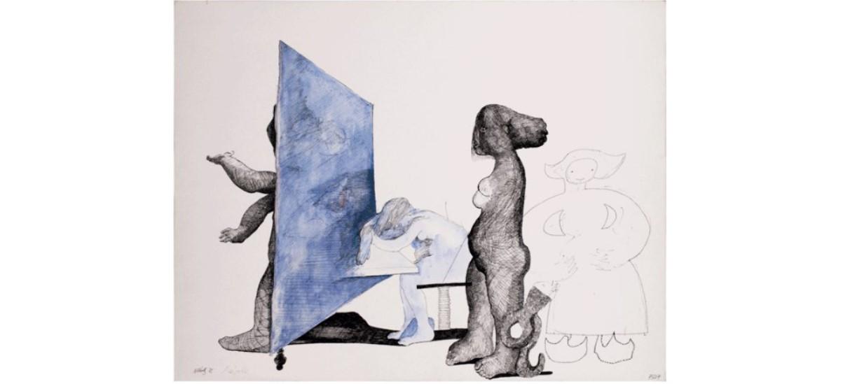 Michèle Katz – Chronique d'une femme mariée – 26/01 au 30/08 – LAAC, Lieu d'Art et Action Contemporaine, Dunkerque