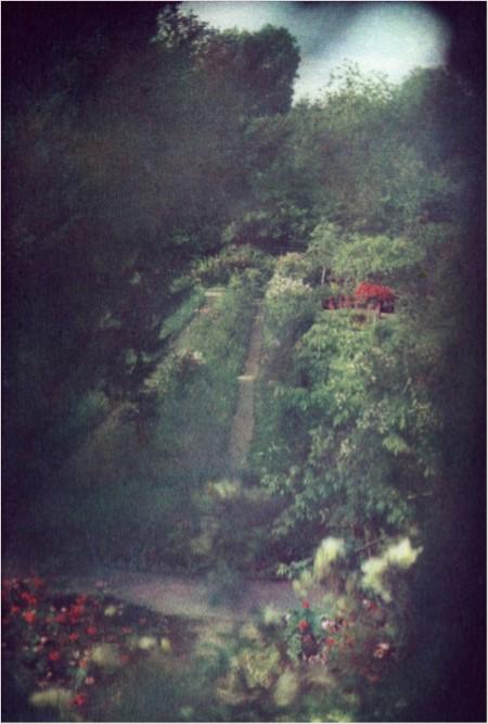 Vue depuis le cabinet de toilette de Claude Monet-Giverny_2011_courtesy Bernard Plossu_galerie Camera Obscura